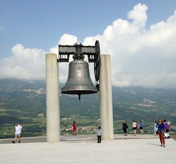La campagna dei caduti, Roverto, Trento, Italie, août 2014.