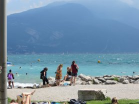 Lago di Garda, Italie, août 2014