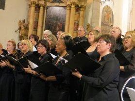 Concert à l'Église de Sanzeno, Italie, oût 2014