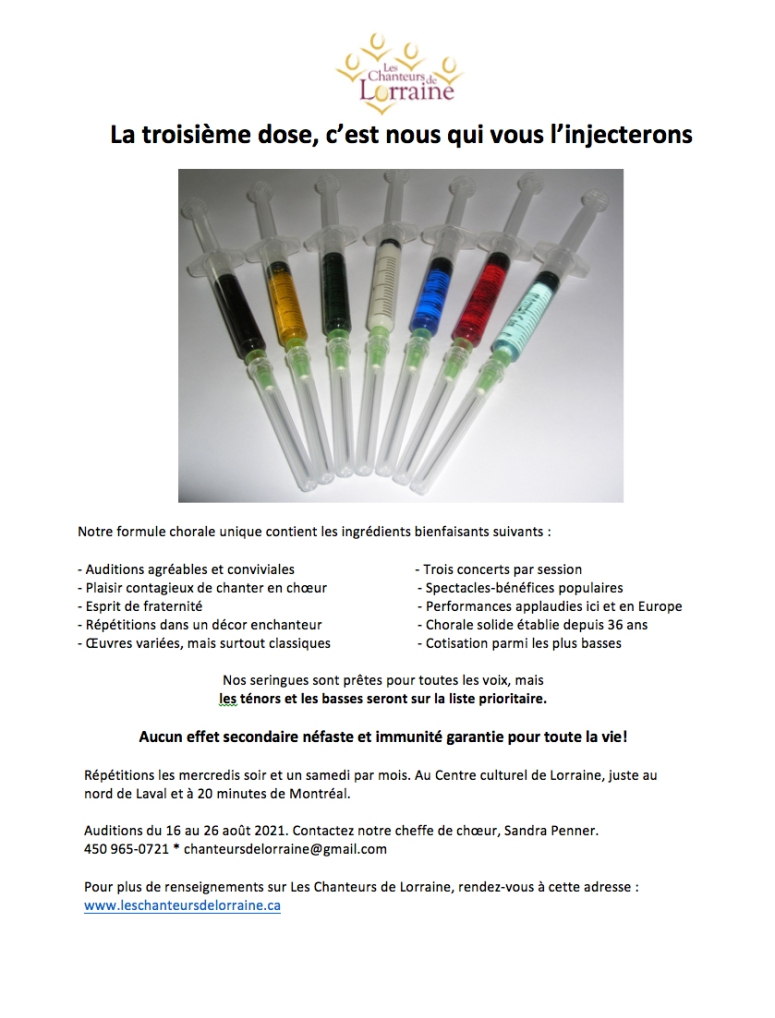 Les Chanteurs de Lorraine recrutement août 2021(1)